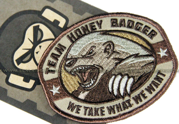 Mil-Spec Monkey Patch - Team Honey Badger - MSM-PATCH-2006-DES