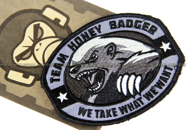 Mil-Spec Monkey Patch - Team Honey Badger - MSM-PATCH-2006-SWAT