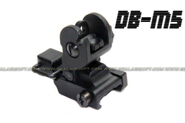 D-Boys M4 Tactical Flip Up Rear Sight (BK) - DB-M5-BK