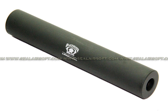 ARMY FORCE 180mm Stay 100M Back Barrel Extension (14mm CW/CCW, Foliage Green)