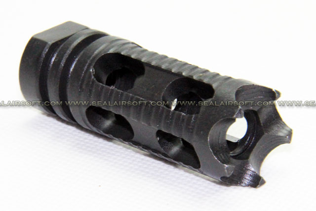 Army Force Phoenix Type Steel Flash Hider (14mm CCW) AF-FL0005