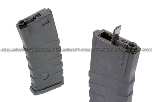 CAA 360rd Hi-Cap Magazine For Airsoft M4 AEG (Black) CAA-MAG-58-BK