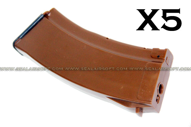 MAG 100rd AK74 Magazine For AK AEG (Bakelite, 5pcs) ART-MAG-001