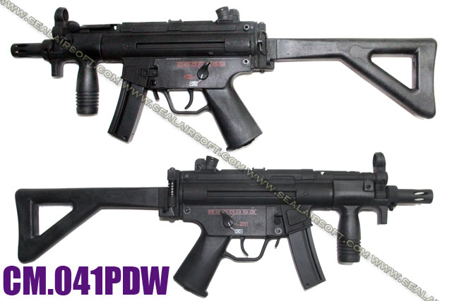CYMA High power METAL Airsoft AEG with Stock - CYMA-CM041PDW