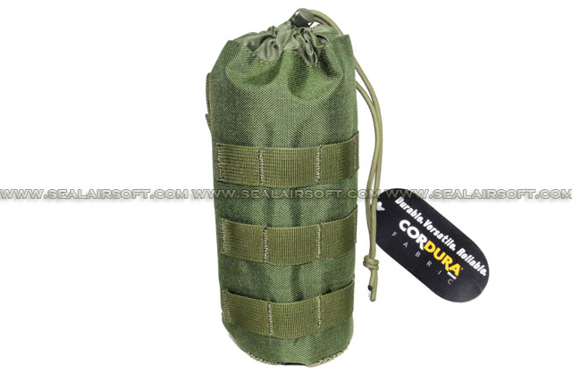 SE MOLLE 1000D CORDURA® Water Bottle Pouch (235mm x 95mm Olive Drab) SE-PH11-OD