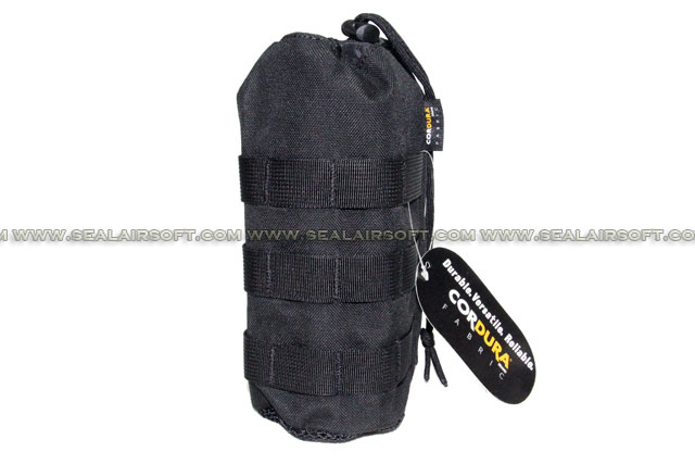 SE MOLLE 1000D CORDURA® Water Bottle Pouch (235mm x 95mm Black) SE-PH11-BK