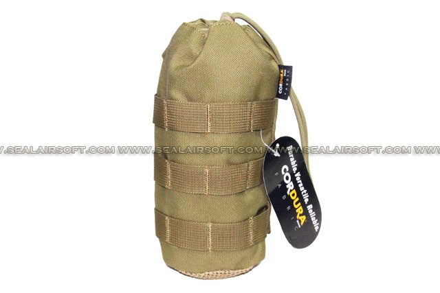 SE MOLLE 1000D CORDURA® Water Bottle Pouch (235mm x 95mm Khaki) SE-PH11-KH
