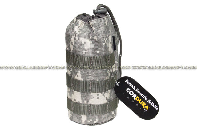 SE MOLLE 1000D CORDURA® Water Bottle Pouch (235mm x 95mm ACU) SE-PH11-ACU