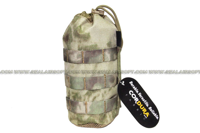 SE MOLLE 1000D CORDURA® Water Bottle Pouch (235mm x 95mm A-TACS FG) SE-PH11-ATFG