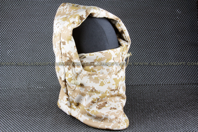 Airsoft Multi Functional Desert Camo Headwear Mask Mask-023-DC
