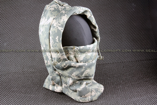 Airsoft Multi Functional ACU Headwear Mask Mask-023-ACU