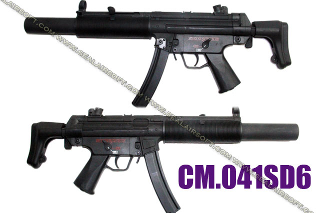CYMA MP5 SD6 METAL Airsoft AEG (CM-041SD6)