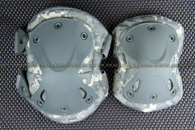 9mm Type Tactical X-tak Paintball Knee & Elbow Pad Set (ACU) KP-002-ACU