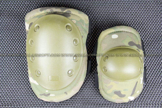 SWAT Tactical Paintball Knee & Elbow Pad Set (Multi-Cam) KP-001-MC