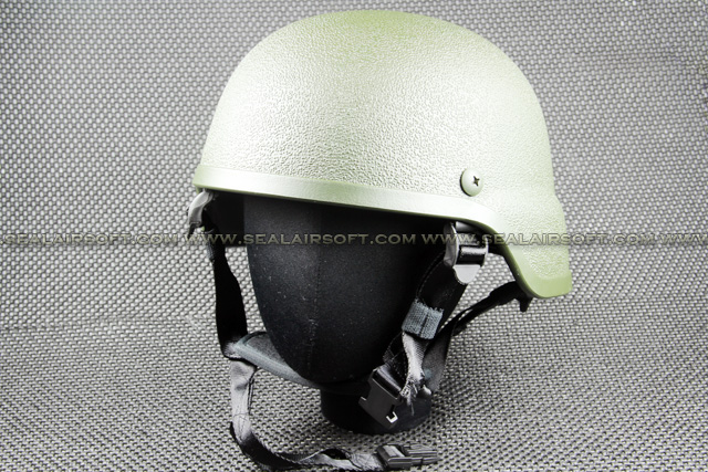 SWAT M88 PASGT Rough Finish Airsoft Toy Helmet (Olive Drab) HT-001-OD