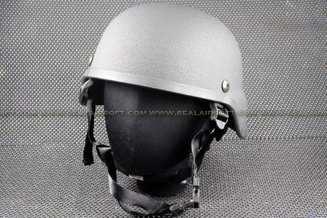SWAT M88 PASGT Rough Finish Airsoft Toy Helmet (Black) HT-001-BK