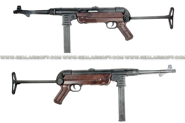 AGM MP40 Bakelite Airsoft Electric SMG Rifle (MP007A) AGM-AEG-MP007A