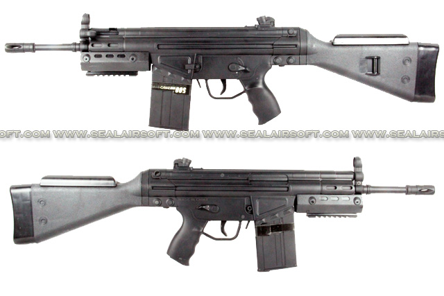 L&H G3 SAS Fixed Stock Metal Body AEG SMG Rifle (M3A3) LH-AEG-M3A3