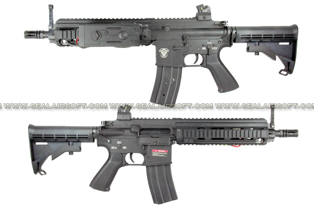 AGM HK416 AEG Rifle With Extendable Stock (052) AGM-AEG-052