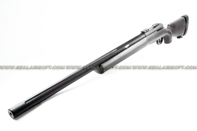 ASIA Electric Guns M24 SWS Bolt Action Spring Sniper Rifle (Black) ASIA-SP-M24-BK