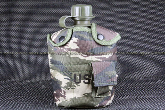 ACM Water Bottle Pitcher With Pouch & Cup Tiger Stripe Camo WP-001-TSC