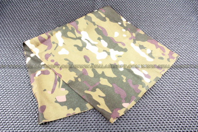 Airsoft Multi Functional Full Neck Headwear Mask (Multi-Camo) Mask-028-MC