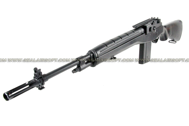 AGM M14 Black Airsoft AEG Rifle AGM-AEG-MP008BK