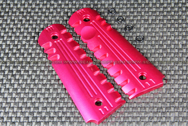 Big Dragon New Type Pistol Grip Cover For M1911 Series (Pink) BD-ACC-M1911RC-PK