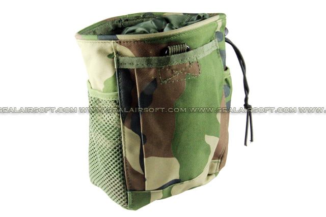 ACM Small Compact Magazine Drop Pouch (Woodland Camouflage) PH-003-WC