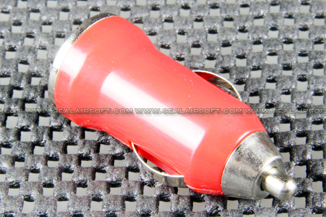 USB Car Charger Adaptor For Apple IPhone IPad IPod MP3 Mobile Red USBCA-RD