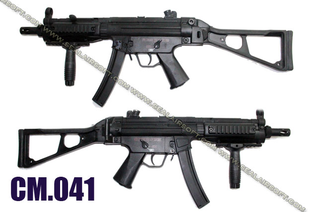 CYMA MP5 w/ UMP Stock FULL METAL Airsoft AEG (CM-041)
