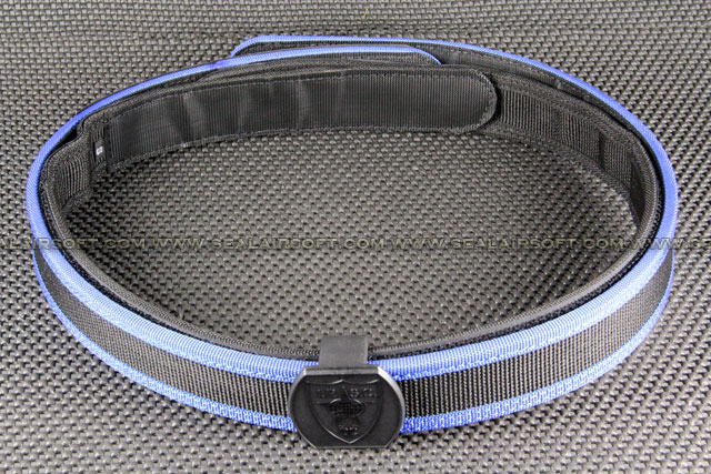 Big Dragon IPSC Special Belt With Belt Head (Blue / Size Available) BT-06-BE