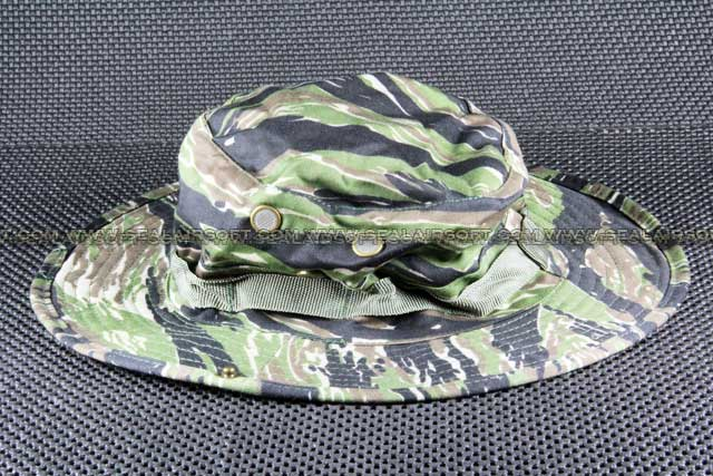 ACM MIL-SPEC Military Boonie Hat Cap Tiger Stripe Camo CAP-008-TSC