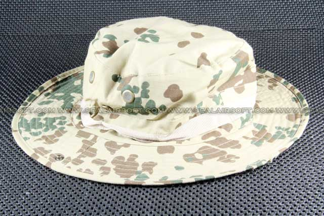 ACM MIL-SPEC Military Boonie Hat Cap German Desert Camo CAP-008-GDC