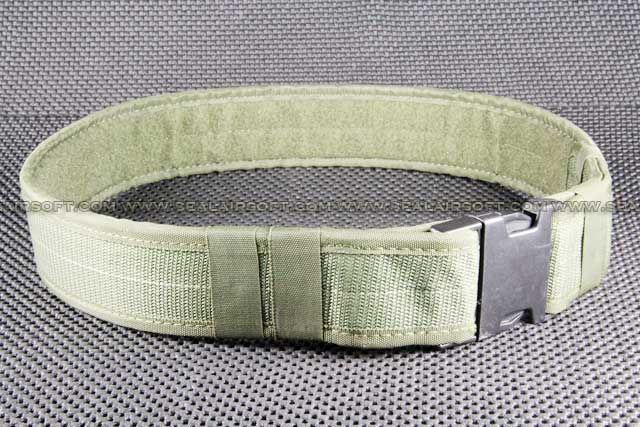 BDU 2 inch Heavy Duty Load Bearing Combat Belt Olive Drab BT-03-OD