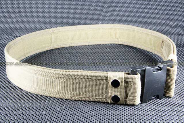 BDU 2 inch Heavy Duty Load Bearing Combat Belt Tan BT-03-TN