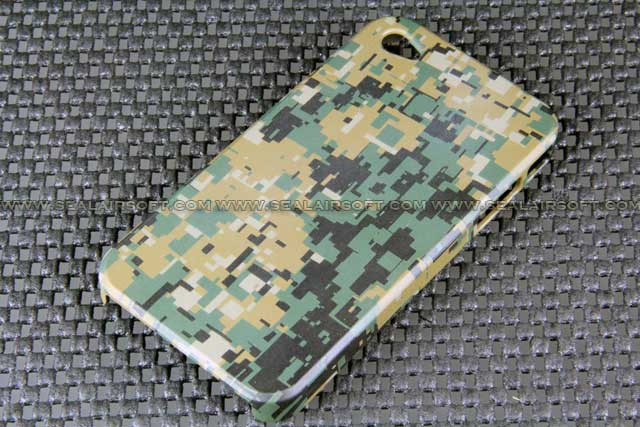 Camoholic iPhone 4 Protective Case Digital Woodland Camo CHL-IP4-DWC