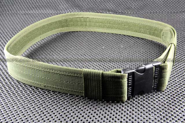 BDU 1.5 inch Heavy Duty Load Bearing Combat Belt Olive Drab BT-01-OD