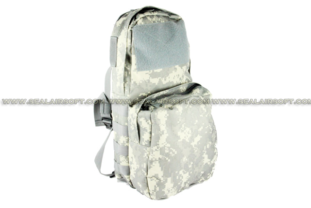 ACM Tactical Utility Molle 3L Hydration Water Backpack For Vest Digital ACU Camo BG-15-ACU
