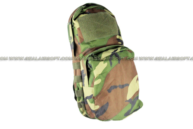 ACM Tactical Utility Molle 3L Hydration Water Backpack For Vest Woodland Camo BG-15-WC