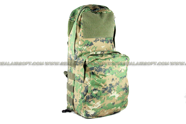 ACM Tactical Utility Molle 3L Hydration Water Backpack For Vest Digital Woodland Camo BG-15-DWC