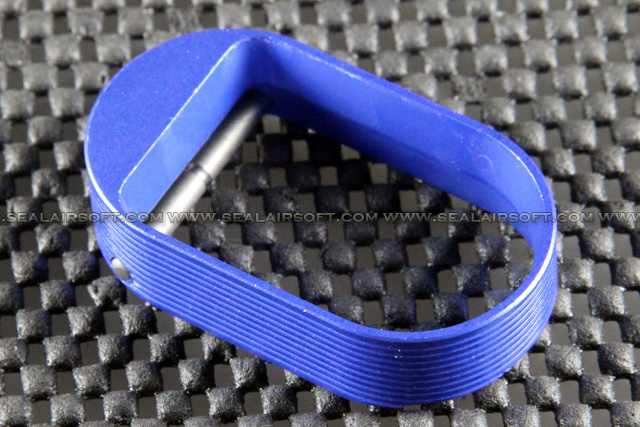 5KU IPSC Hot Shot Style Magwell For Marui Hi-Capa (Blue) GB-258-BL