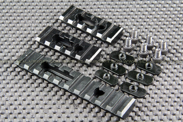 ACM Metal 20mm Rail Set For MOE Handguard MB-026