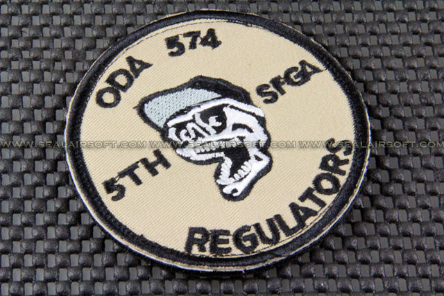 ACM ODA 574 Skull REGULATORS Logo Velcro Patch (OP-032)
