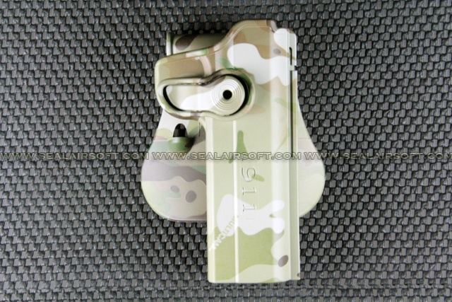 ARMY FORCE Paddle Holster For 1911 Series (Multicam) AF-IMIH-1911-MC