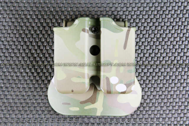 ARMY FORCE Paddle Magazine Pouch For M92 Series (Multicam) AF-MP-M92-MC