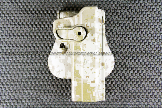 ARMY FORCE Paddle Holster For 1911 Series (Digital Desert Camo) AF-IMIH-1911-DDC