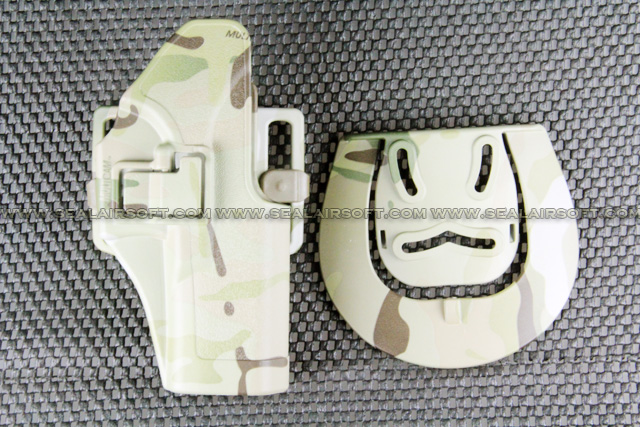 ARMY FORCE CQB Holster For Glock Series (Multicam) AF-CQBH-G17-MC
