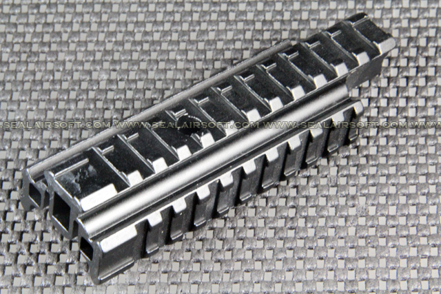 5 1/2 Inch 20mm Tri-Rails See Through Rail Base For Carry Handle 993 MB-050