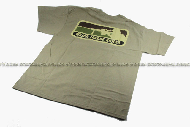 Mil-Spec Monkey T-Shirt - Major League Sniper (Greenish Brown)